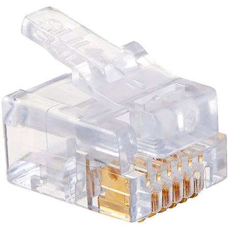 Platinum Tools EZ-RJ12/11 Connectors - 50-pack