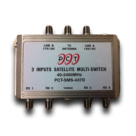 PCT 3x4 High Performance Satellite Multi Switch