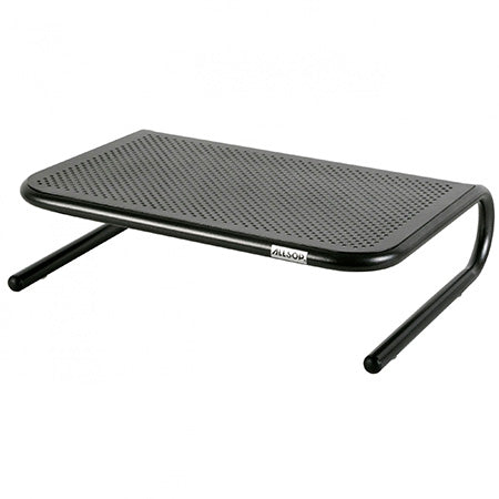 Allsop Metal Art Jr. Monitor Stand with 14-in Wide Platform - Black