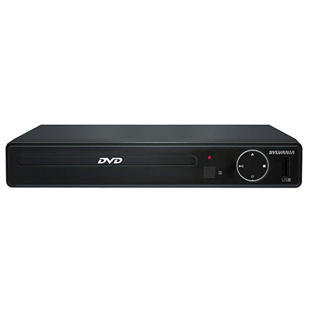 Sylvania HDMI DVD Player with USB Port for Digital Media Playback - Black