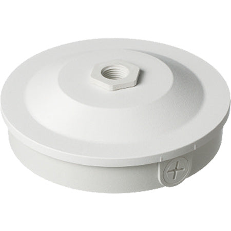 Arlington Security Camera Pipe Mounting Box - White