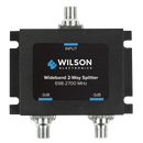 Wilson Wide-band 2-Way 75-ohm Splitter - Black