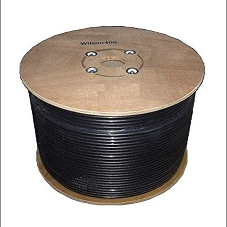 Wilson Ultra Low Loss 152.4-meter (500-ft) Coax Cable Spool - Black