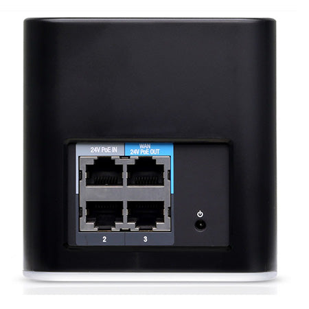 Ubiquiti airMAX airCube Dual Band AC 2x2 MIMO Home WiFi Access Point with PoE - Black