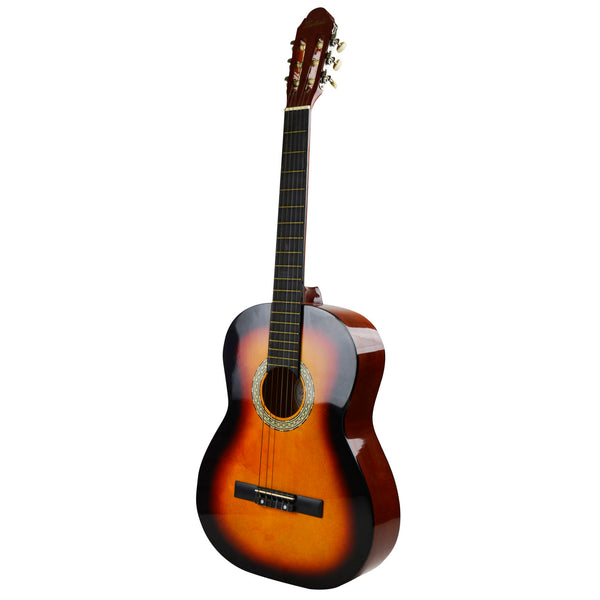 Toledo 39-in 6-String Acoustic Guitar - Sunburst