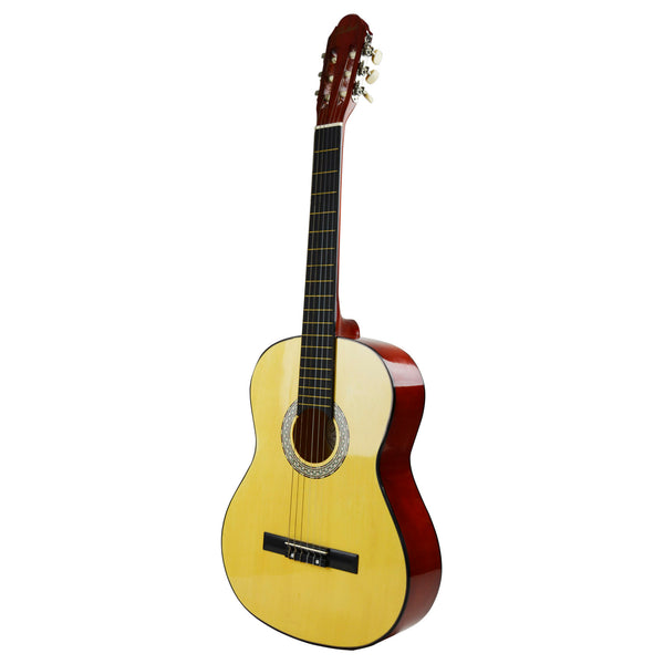 Toledo 39-in 6-String Acoustic Guitar - Wood