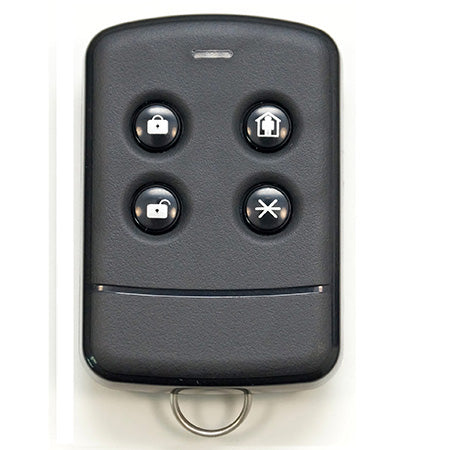 Securifi Smart Home Programmable 4 Button Key Fob for Almond+ and Almond 2015 - Black
