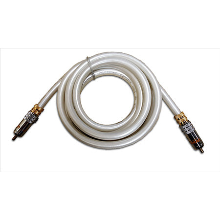 Wireworks Composite Video Cable - 2-meter (6.5-ft) - White