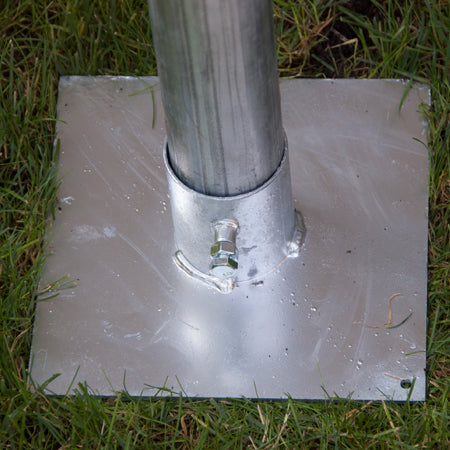 SureConX Heavy Duty Base Plate for Telescoping Antenna Mast