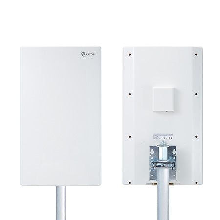 ANTOP Big Boy Flat-panel 104-km (65-mile) Outdoor HDTV Antenna - White