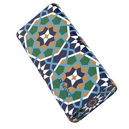 iDeaPLAY 10,000-mAh Power Bank for Phones and Tablets - Pattern Moroccan