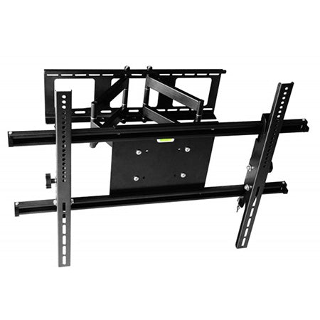 Best View Mounts Articulating TV Wall Mount 42-in to 90-in - Black