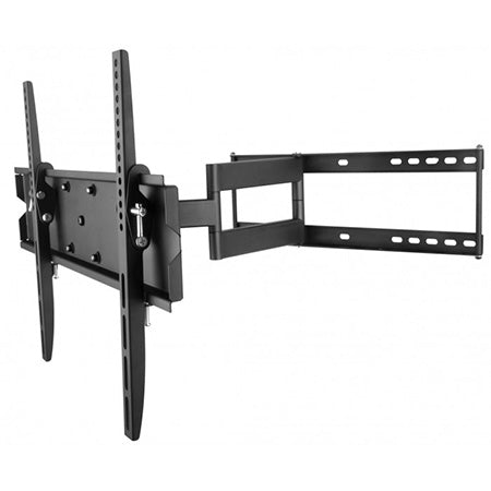 Best View Mounts Articulating TV Wall Mount 26-in to 55-in - Black