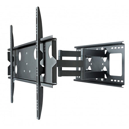 Best View Mounts Articulating TV Wall Mount 42-in to 80-in - Black