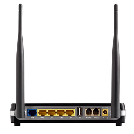 Cambium Networks cnPilot R200 Single Band 2.4-GHz 300-Mbps Wireless Managed Home and Business Router with ATA and PoE