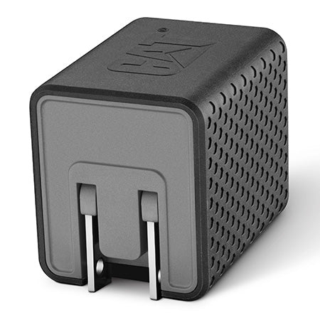 CAT Dual USB to AC Wall Adapter 3.4-amp - No Packaging - Black