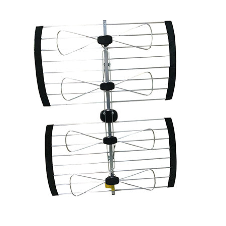 ClearConX Outdoor UHF 4-Bay Bow Tie Omnidirectional 96-km (60-mile) Antenna