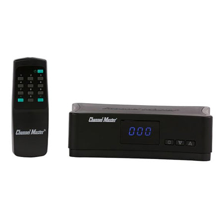 Channel Master Antenna Rotator Control Unit with Remote - Black