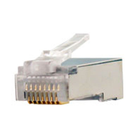 Vertical Cable Cat5e Shielded Connectors - 100-pack