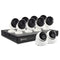 Swann 4K 16 Channel 2TB DVR Security System with 8 x 4K Bullet Cameras (PRO-4KMSB) and 2 x 4K Dome Cameras (PRO-4KMSD)