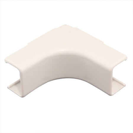 Construct Pro 5-pack of Inside Corner Raceway Adapters 22-mm (.87-in) - White