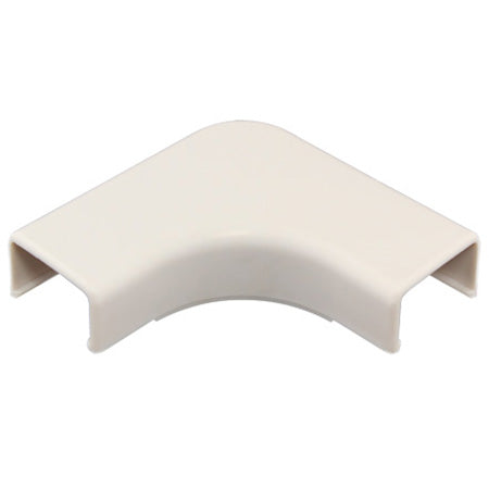 Construct Pro 5-pack of Right Angle Raceway Adapters 22-mm (.87-in) - White