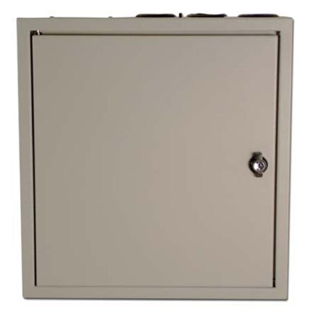 Construct Pro 38.1-cm (15-in) Heavy Duty Structured Wiring Cabinet with Lock and Removable Door - Neutral