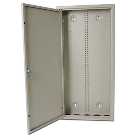 Construct Pro 73.6-cm (29-in) Heavy Duty Structured Wiring Cabinet with Lock and Removable Door - Neutral