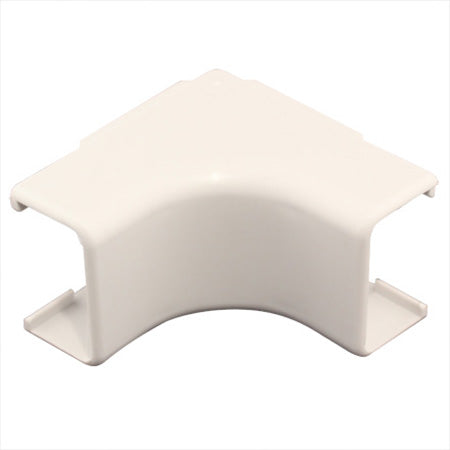 Construct Pro 5-pack of Inside-Corner Raceway Adapters 15-mm (1.38-in) - White