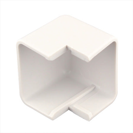 Construct Pro 5-pack of Outside-Corner Raceway Adapters 15-mm (1.38-in) - White