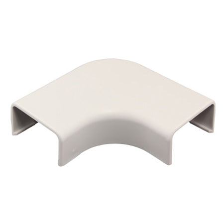 Construct Pro 5-pack Right Angle Raceway Adapters 5-mm (1.38-in) - White