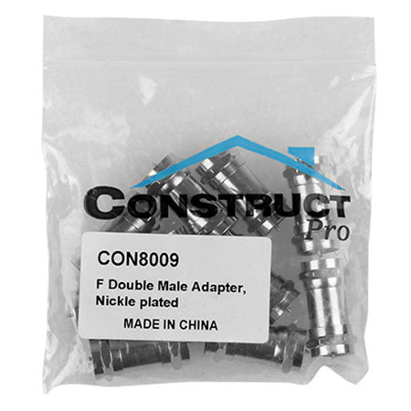 Construct Pro Double F Male Adapter - 10-pack