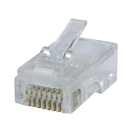 Construct Pro Quick Crimp RJ-45 Cat6 Connectors - 50pc Jar