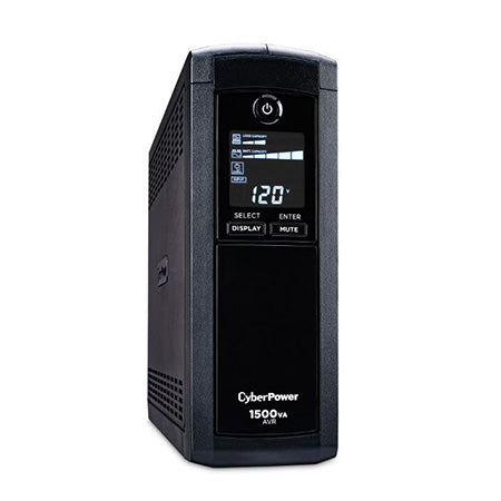 CyberPower 1500-VA 900-watt 12 Outlet Simulated Sine Wave UPS with Intelligent LCD Display