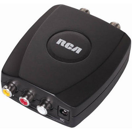 RCA Channel 3 or 4 Compact RF Modulator - Black