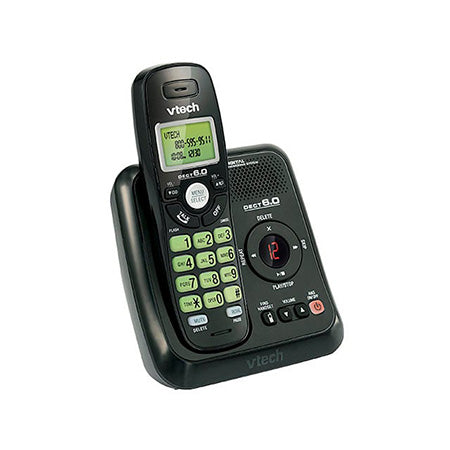 Vtech Cordless Answering System with Caller ID - Black