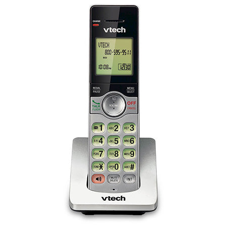 Vtech 2-Handset DECT 6.0 Cordless Phone with Answering System and Caller ID - Silver