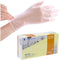 Wally Plastic Clear Vinyl Powder Free Disposable Gloves - Large - 100-pack