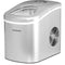 Frigidaire Countertop Compact Ice Maker with 26lbs Capacity Production per Day - Silver