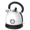 Frigidaire 1.8-L Retro Stainless Steel Electric Kettle - White