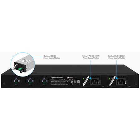 Ubiquiti EdgeMAX EdgeRouter Infinity 8-port 10G SFP+ with 1-port Gigabit Ethernet