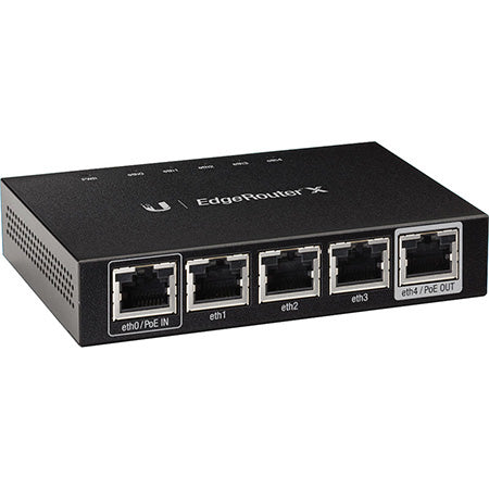 Ubiquiti EdgeMAX EdgeRouter X 5-port Gigabit Ethernet with PoE Passthrough