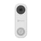 EZVIZ DB1C Wired Smart 1080p Wi-Fi Video Doorbell with 170-Degree Vertical Field of View - White