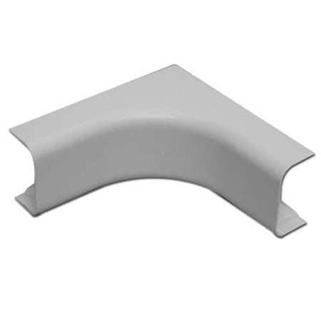 Quest Technology 38-mm (1-1/2-in) Premiere Raceway Inside Corner - White