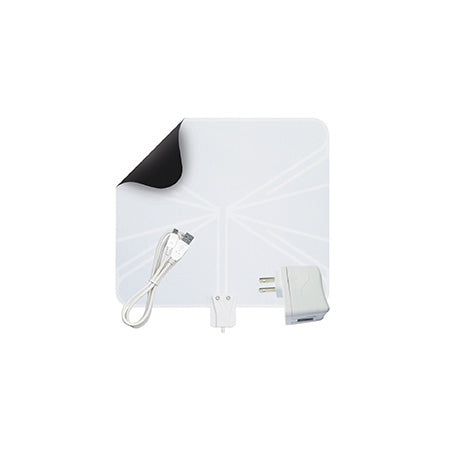 WineGard Flatwave Indoor 80-km (50-mile) HDTV Antenna - White