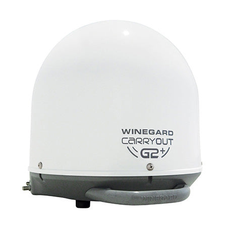 Winegard Dish Network/Bell Carryout G2+ Portable Automatic Satellite Antenna - White