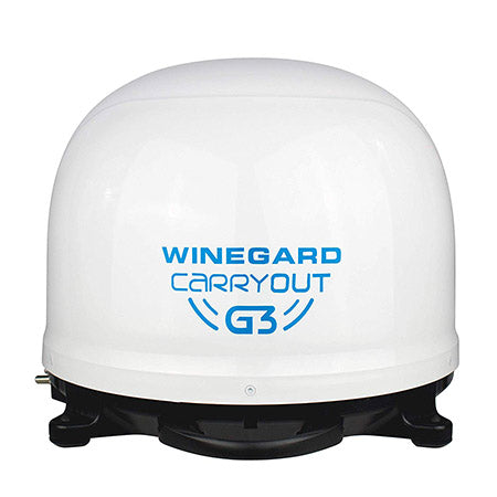 Winegard Dish Network/Bell Carryout G3 Portable Automatic Satellite Antenna - White