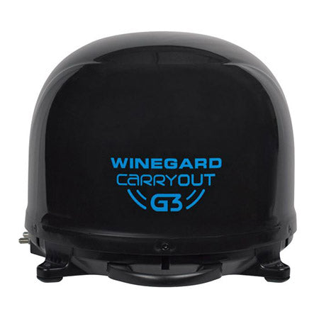 Winegard Dish Network/Bell Carryout G3 Portable Automatic Satellite Antenna - Black