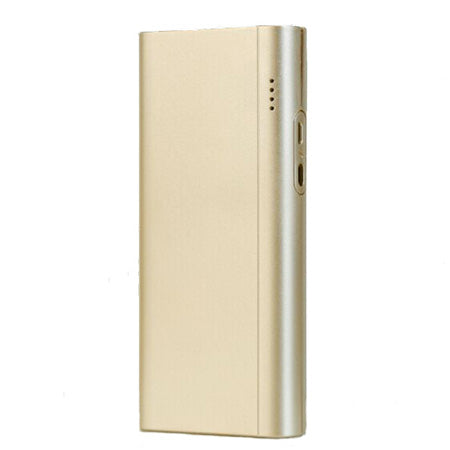 iDeaPLAY 10,000-mAh Power Bank for Phones and Tablets - Golden