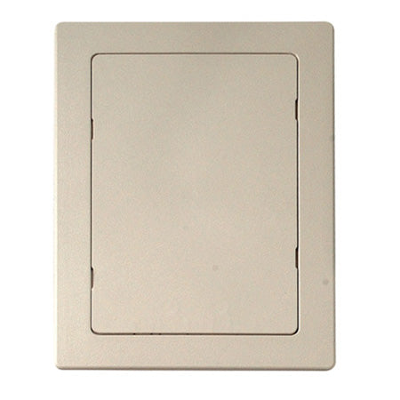 Labor Saving Devices 12.2-cm (6-in) x 22.8-cm (9-in) Hid-N-Access Reversible Wall Access Panel - Beige